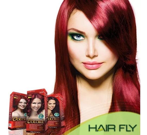 Coloração Permanente Hairfly Tubo 50g Cor Várias