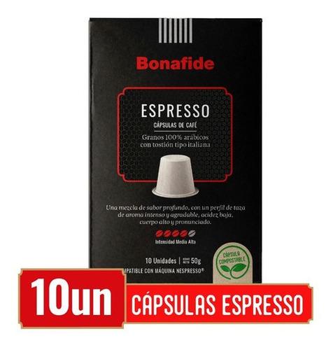 Imagen 1 de 4 de 10 Cápsulas Espresso Compostables - Compatibles Nespresso®