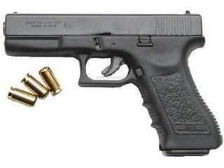 Pistola Bruni Gap (glock) + 50 Un Fogueo 9mm,envio Gratis