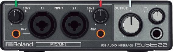 Interface De Audio Roland Rubix22 Mac/pc/iPad
