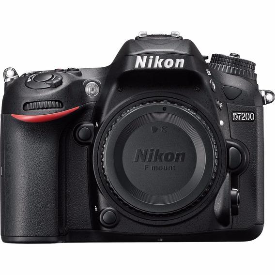 Câmera Profissional Nikon Dslr D7200 Apenas O Corpo
