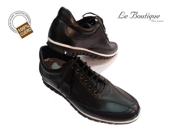 Zapatilla Urbana 100%cuero Foot Notes Vs Color 1281 Sale