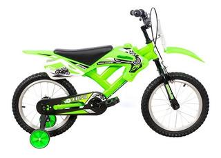 Bicicleta Bicimoto Kids Rodado 16 Tipo Cross R16 Deportivas