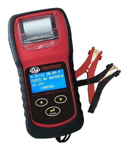 Imagem 1 de 9 de Teste De Bateria Automotivo  Baterias Start Stop Impressora