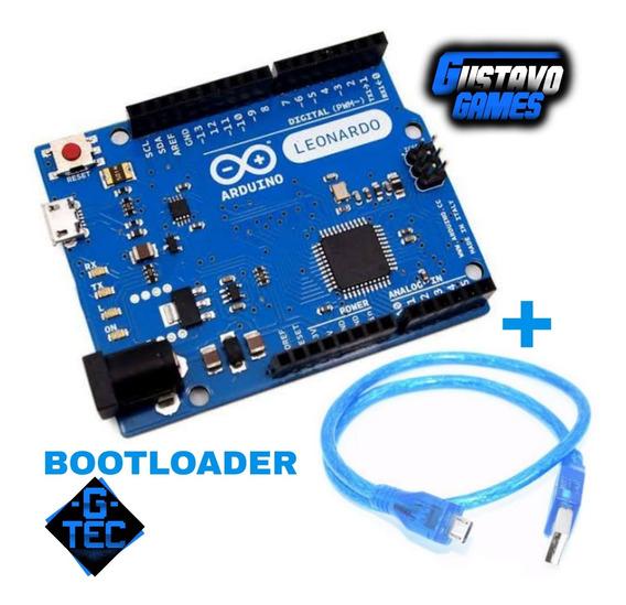 Arduino Leonardo 32u4+ Bootloader Scketh P/ Volante Caseiro
