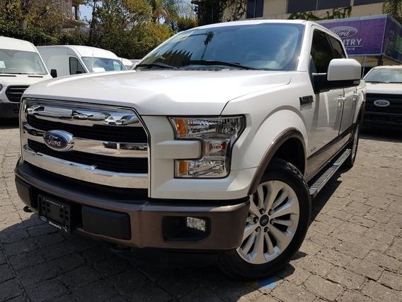 Ford Lobo 3.5 Lariat Cabina Doble 4x4 Mt 2015 Credito