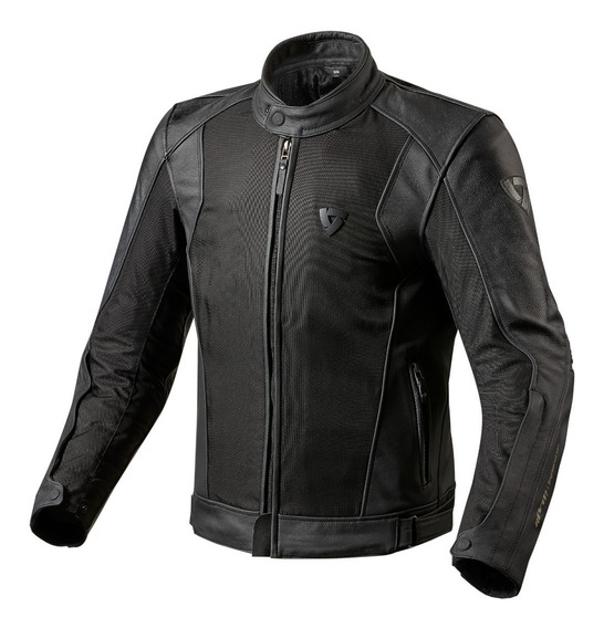 Campera Moto Cuero 4 Estaciones Protección Revit Ignition 2