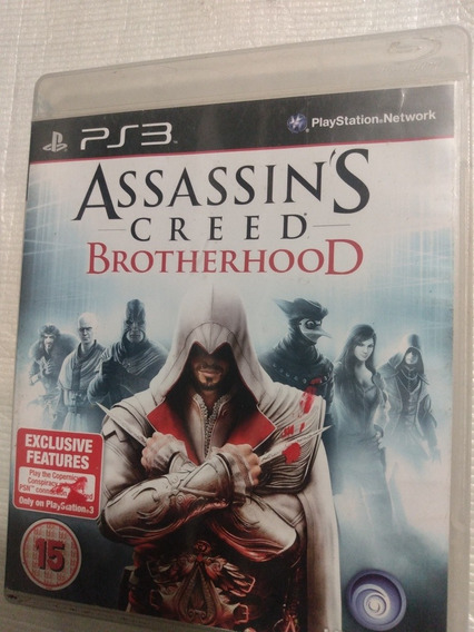 Assassins Creed Brotherhood Ps3 Mídia Física