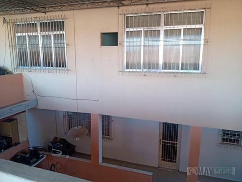 Casa Com 4 Dormitórios À Venda, 400 M² Por R$ 650.000,00 - Campinho - Rio De Janeiro/rj - Ca0544
