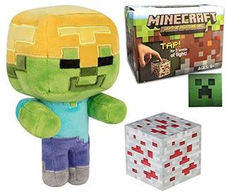 Juguete Explore Mine Pack Character Stuffed Zombie Minecraft