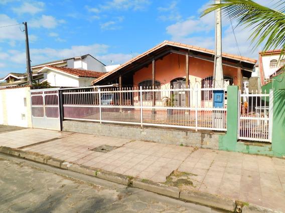 Casa Térrea, Lado Praia No Flórida À Venda Em Peruíbe.