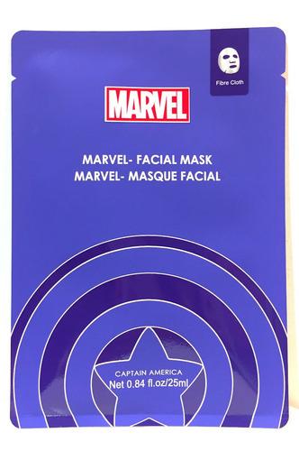 Marvel Capitan America Mascara Facial Importada De Coleccion