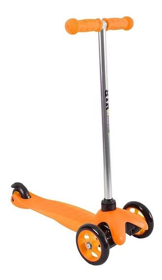 Scooter 3 Ruedas Monopatin De Aluminio Con Frenos Calidad