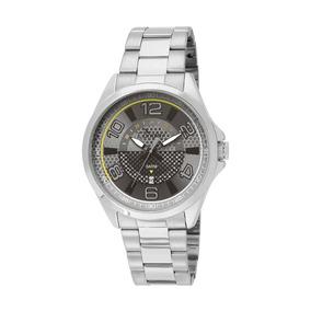 Relógio Condor Masc Aço Dourado Visor Preto Co2115xl/3c