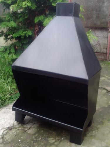 Estufa Chapa A Leña - Frontal 60 X 40 Cm - Calibre 18