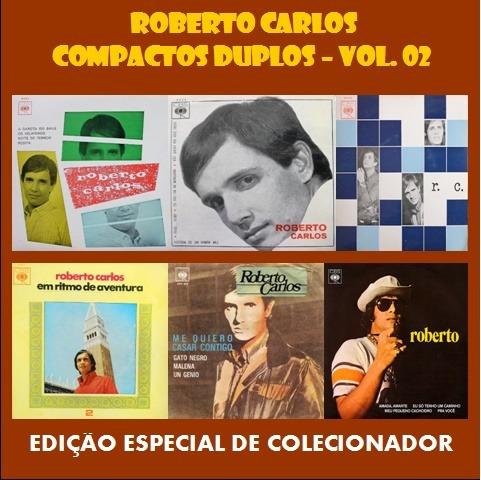 Cd Roberto Carlos Especial - Compactos Duplos- Vol. 02