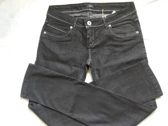Calça Jeans Feminina Da Zoomp - Ref.140110111 Black