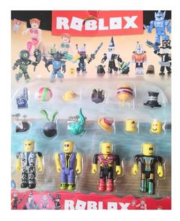 Roblox Set 4 Muñecos Y Accesorios Villa Crespo