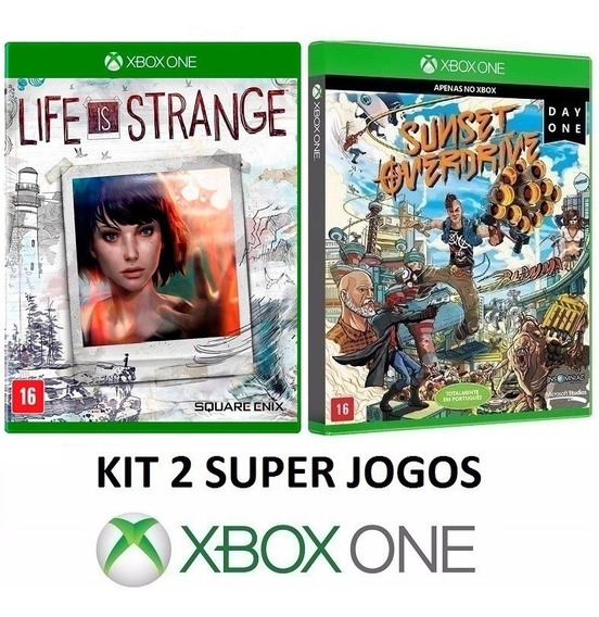 Life Is Strange + Sunset Overdrive - Midia Fisica - Xbox One