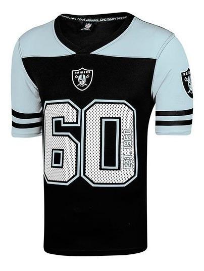 Playera Hombre Oakland Raiders 317267 Negro-gr Envio Gratis