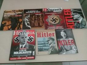 Lote Livros E Revistas Sobre 2° Guerra Mundial C/ 7 Unid.