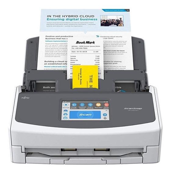 Scanner Fujitsu Scansnap A4 Duplex 30ppm 600 Dpi Ix1500
