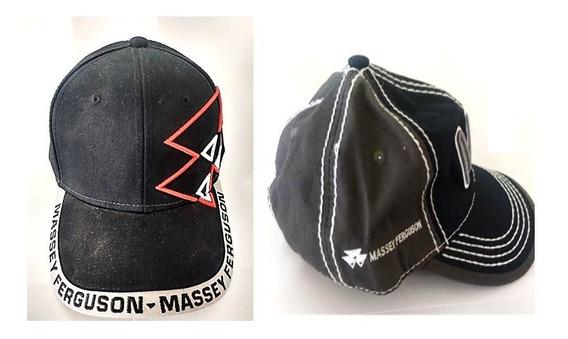 Kit De 2 Gorras Marca Massey Ferguson