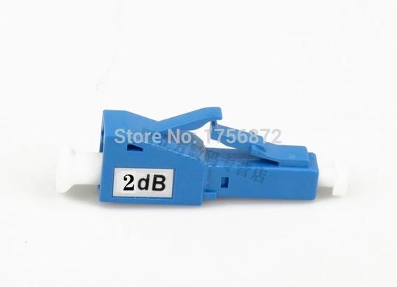 Lote 9 Peças Atenuador Fibra Optica Lc/pc 02 Db Promoção