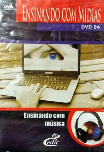 Imagem 1 de 1 de Dvd Ensinando Com Música - Original + Brinde