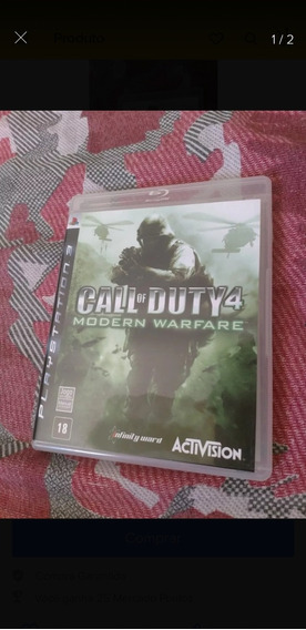 Jogo Call Of Duty4 Para Ps3