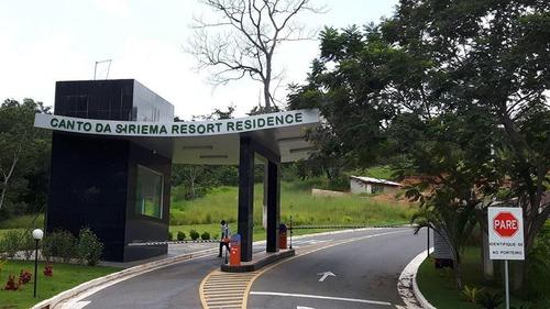 Imagem 1 de 18 de Terreno Em Canto Da Siriema Resort Residence, Jaboticatubas/mg De 0m² À Venda Por R$ 180.000,00 - Te440638