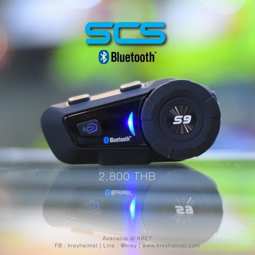 Intercomunicador Bluetooth 4.1 Scs Etc S9 Para Casco Moto