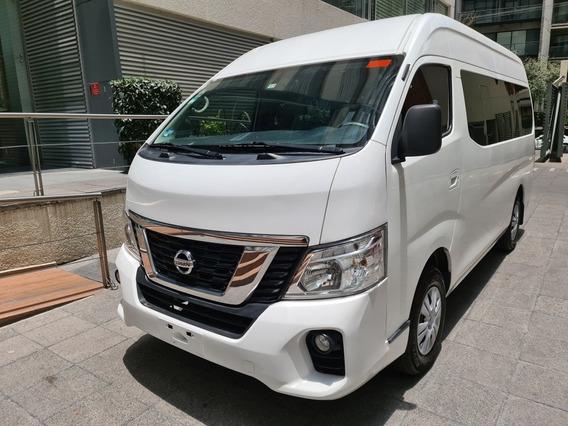 Nissan Urvan 2018 15 Pasajeros, Gasolina, Paquete Seguridad
