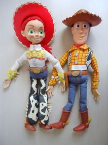 Toy Story Import Wood, Jessy, Bala No Alvo Talking 39 Cm