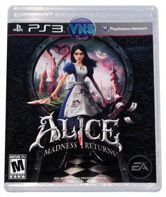 Alice Madness Returnes - Playstation 3 - Novo - Lacrado