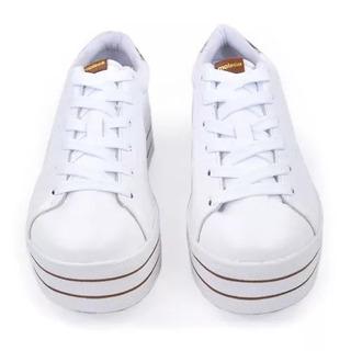 Tenis Moleca Casual Branco