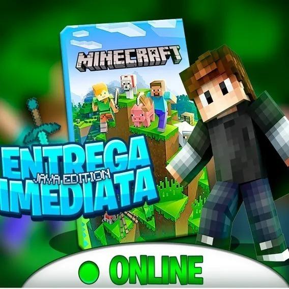 Minecraft Original Java Edition - Pode Alterar Tudo