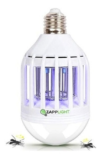 Lampara Led Foco Mata Mosco Luz Mosquitos Zapplight Mosca