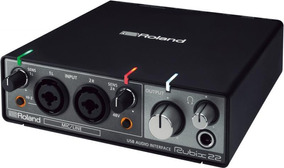 Interface De Áudio Roland Rubix-22 Midi
