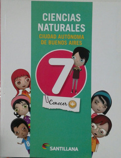 Ciencias Naturales 7 Caba Conocer + - Santillana *