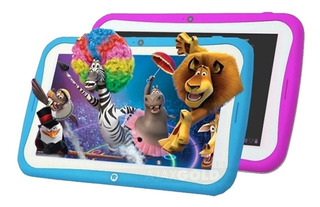 Tablet 7 Android Kids Hd 8gb Control Parental + Funda + Film