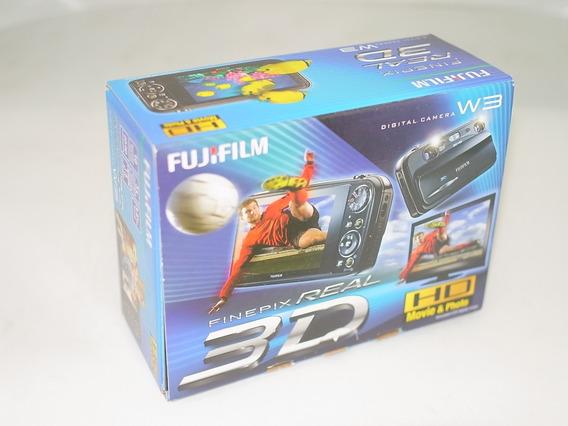 Fujifilm Real 3d W3 Estero 3d Novinha & Caixa