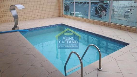 Apartamento Com 2 Dorms, Boqueirão, Praia Grande - R$ 230 Mil, Cod: Ac4161 - Vac4161