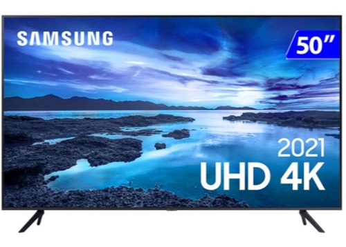 Smart Tv Samsung 50 Uhd Un50au7700gxzd 4k Processador Crysta