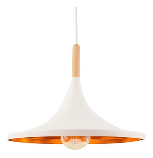 Lámpara Beat Wide Dixon Cocina Cobre Moderna Deco Living