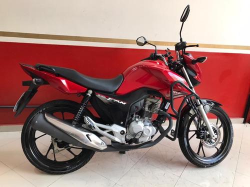 Honda Cg 160 Fan 2019 Vermelha