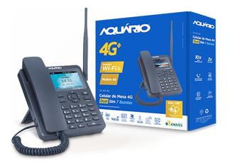 Telefone Rural Aquarios 4g Com Wifi
