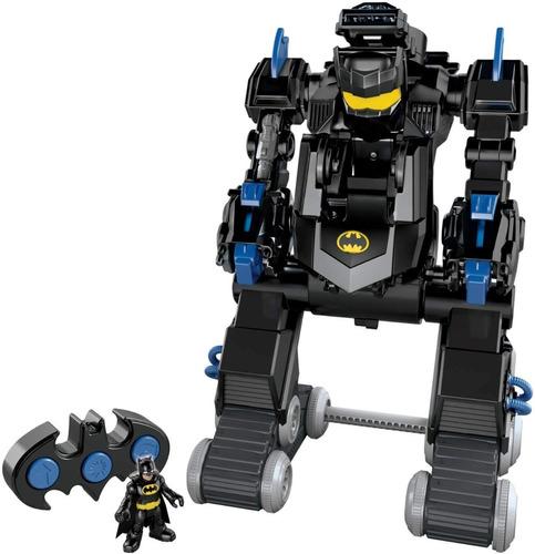 Imagen 1 de 9 de Robot Transformable Batman Imaginext Bat-bot Control Remoto