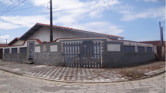 Linda Casa Em Mongaguá À Venda! Ref: 6900 D