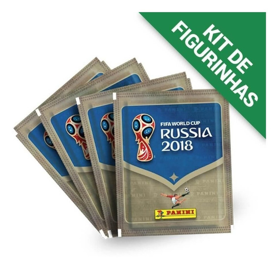 Kit De Figurinhas Copa Do Mundo Rússia 2018 - 12 Envelopes